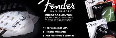 Encordoamentos Fender