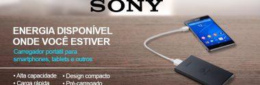 Carregadores Sony – Confira a Novidade Sony!