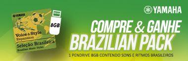 Promoção Yamaha Brazilian Pack 2 – Uma expansão de sons e ritmos!