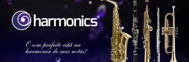 Harmonics – Linha de Instrumentos de Sopro. Qualidade e Custo-benefício.