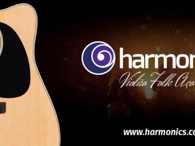 Violão Harmonics GE-30 Folk Eletroacústico Aço – A Harmonia entre qualidade e custo-benefício.